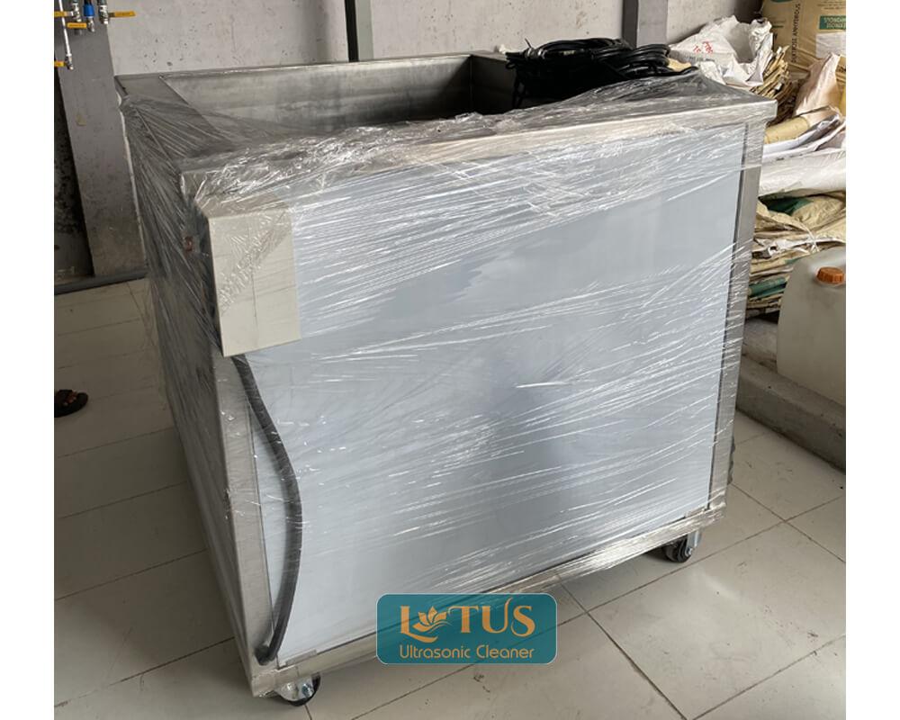 Lắp đặt bệ rửa siêu âm cho đơn vị y tế