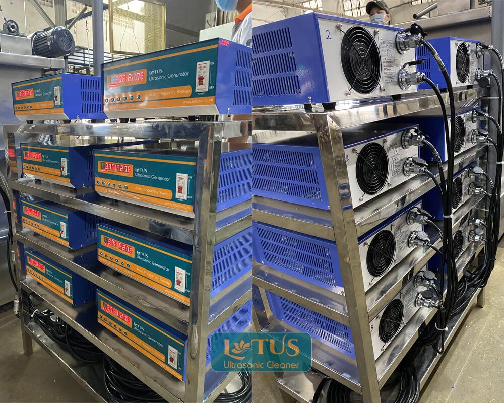 Máy chủ phát sóng siêu âm cho ngành xi mạ